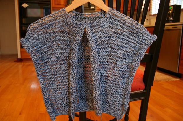Drop Stitch Knitted Jacket from Filati #39 Magazine
