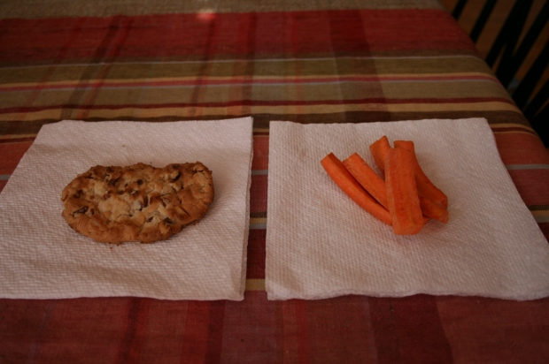 Cookie vs Carrots