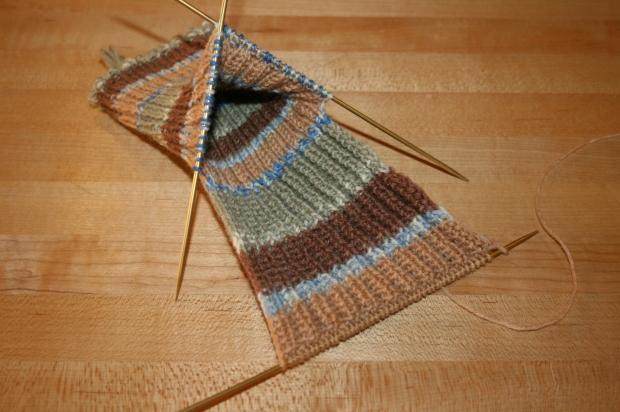 KnittingHeelFlapDone