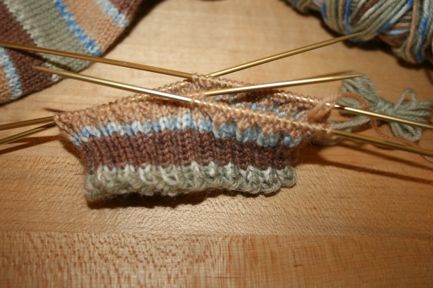 Second Sock Progress2