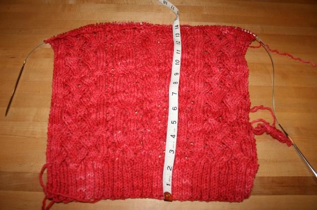 ValentineSweater ProgressFront5